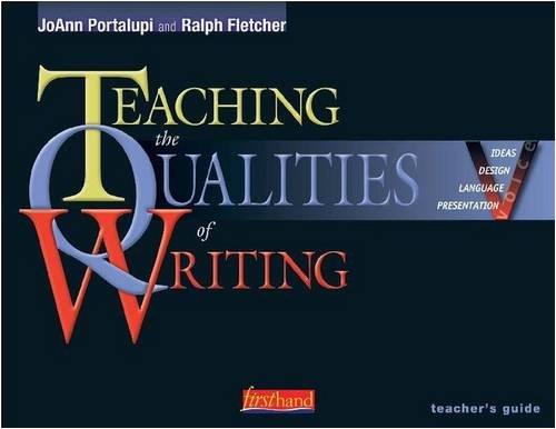 9780325006291: Teaching the Qualities of Writing