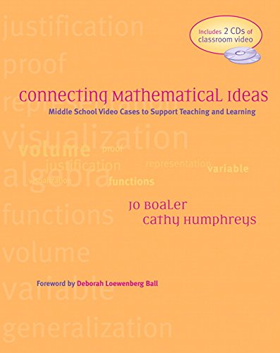 9780325006703: Connecting Mathematical Ideas: Middle School Video Cases to Support Teaching and Learning