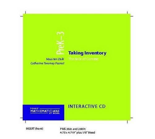 9780325006772: Taking Inventory: The Role of Context, Grade K-1 (Young Mathematicians at Work)