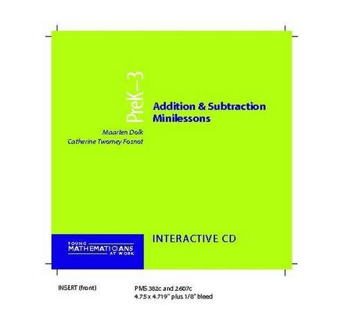 9780325006802: Addition and Subtraction Minilessons, Grades PreK-3 (CD) (Young Mathematicians at Work)