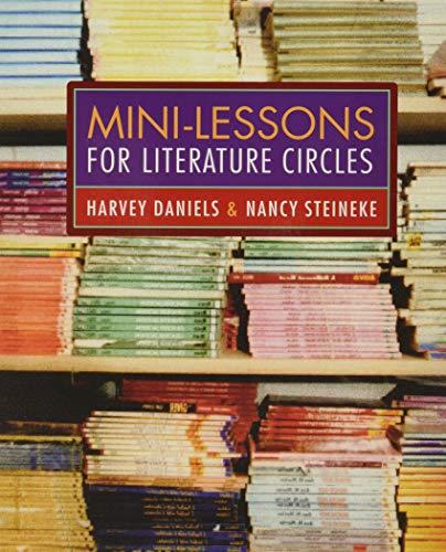 9780325007021: Mini-Lessons for Literature Circles