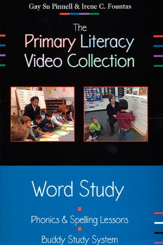 9780325008462: The Primary Literacy Video Collection; Word Study [DVD]: Phonics & Spelling Minilessons: Buddy Study System