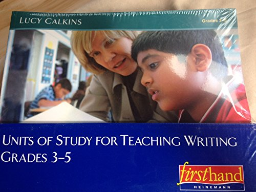 9780325008707: Units of Study for Teaching Writing, Grades 3-5