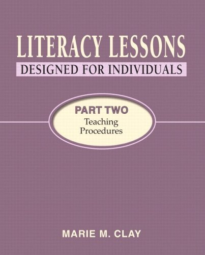 9780325009179: Literacy Lessons: Designed for Individuals, Part Two: Teaching Procedures
