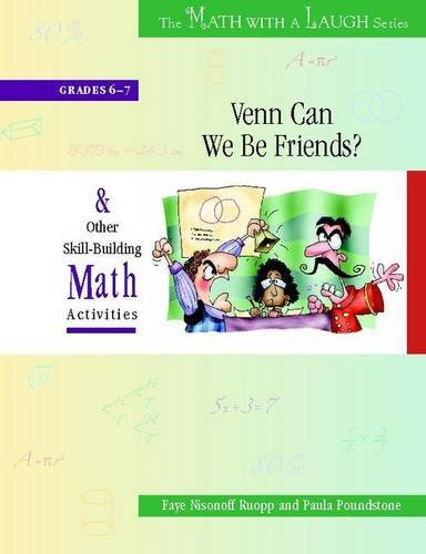9780325009278: Venn Can We Be Friends?: And Other Skill-Building Math Activities, Grades 6-7 (The Math with a Laugh Series)