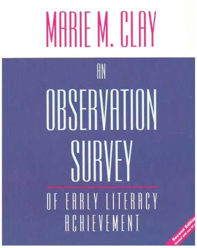 9780325009292: An Observation Survey: Of Early Literacy Achievement