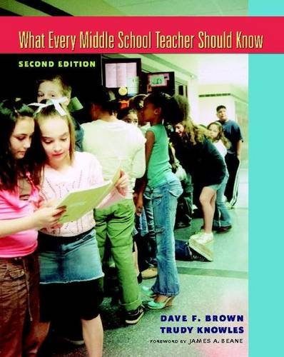 9780325009537: What Every Middle School Teacher Should Know, Second Edition