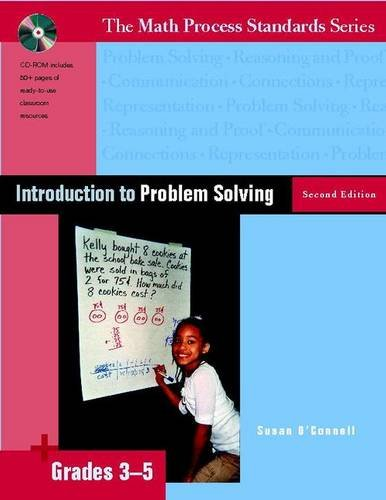 Introduction to Problem Solving, Second Edition, Grades: Susan O'Connell