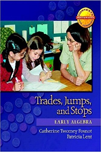 9780325010151: Trades, Jumps, and Stops: Early Algebra (Contexts for Learning Mathematics, Grades K-3: Investigating Number Sense, Addition, and Subtraction)