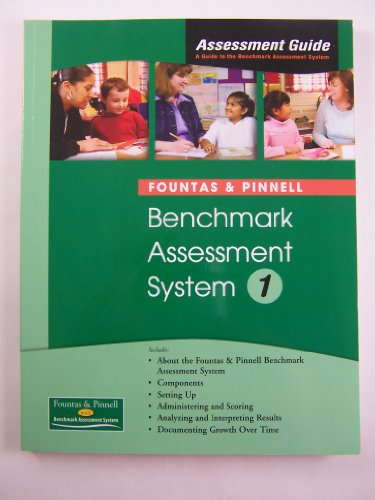 9780325011844: Fountas and Pinnell Benchmark Assessment System 1 Assessment Guide 9780325011844 0325011842