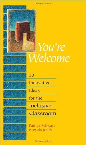 9780325012049: You're Welcome: 30 Innovative Ideas for the Inclusive Classroom