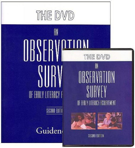 9780325013169: An Observation Survey of Early Literacy Achievement (DVD): Second Edition