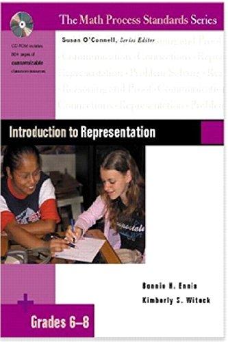 9780325013879: Introduction to Representation, Grades 6-8 (Math Process Standards)