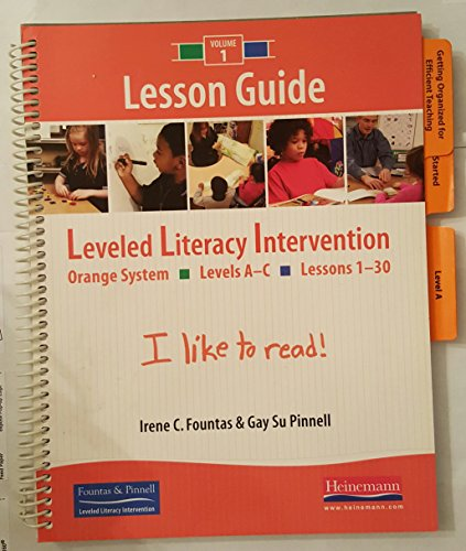 9780325018195 Fountas Pinnell Leveled Literacy