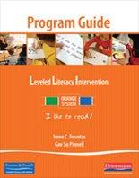 Leveled Literacy Intervention Orange System Levels A-C Program Guide Lessons 1-70 (Leveled Literacy...
