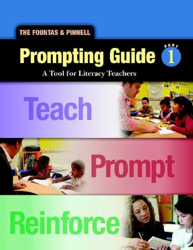 9780325018256: Fountas and Pinnell Prompting Guide 1 A Tool for Literacy Teachers