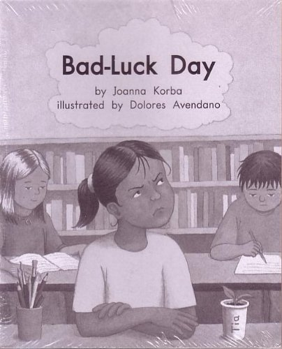 Bad-Luck Day; Leveled Literacy Intervention My Take-Home: Joanna Korba