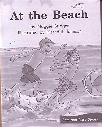 AT THE BEACH (My Take-Home Book: Blue: BRIDGER, MAGGIE