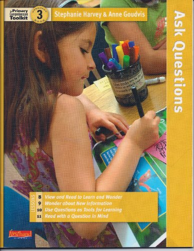 The Primary Comprehension Toolkit: Strategy Book 3 (Lessons 8, 9, 10, 11): Stephanie Harvey