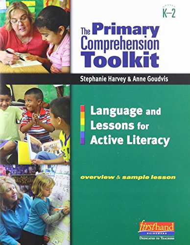 The Primary Comprehension Toolkit 3-Pack (Grade K-2): Harvey, Stephanie