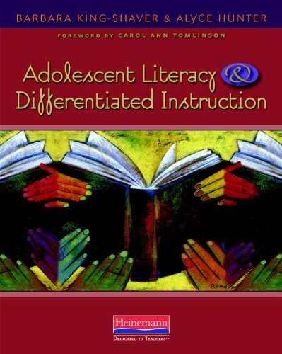 9780325026619: Adolescent Literacy and Differentiated Instruction
