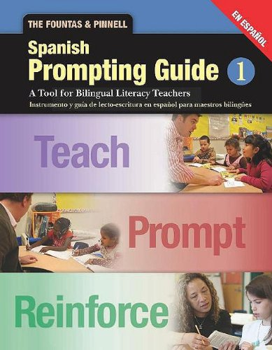 9780325027067: The Fountas and Pinnell Prompting Guide, Part 1: Spanish Edition (Fountas & Pinnell Leveled Literacy Intervention)