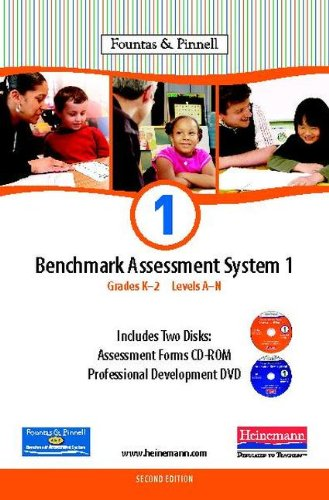9780325027753: Benchmark Assessment System 1 Grades K-2 Levels A-N Fountas & Pinnell CD-ROM, Orange, Green, and Blue/2CD-Rom & 1 DVD