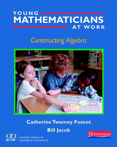 9780325028415: Young Mathematicians at Work: Constructing Algebra