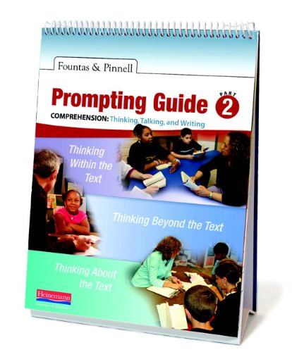 9780325028736: Fountas & Pinnell Prompting Guide, Part 2 for Comprehension: Thinking, Talking, and Writing