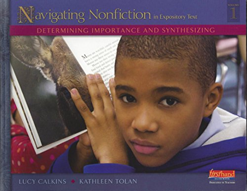 9780325030449: Units of Study for Teaching Reading, Grades 3-5 Navigating Nonfiction
