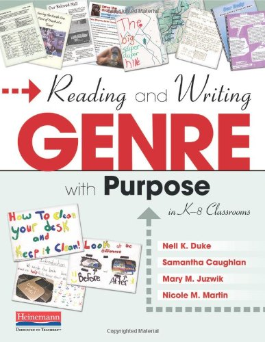9780325037349: Reading and Writing Genre with Purpose in K-8 Classrooms