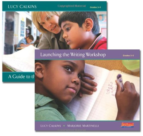 9780325037431: A Guide to the Writing Workshop, Grades 3-5 [With Workbook and Access Code]