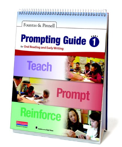9780325043647: Fountas & Pinnell Prompting Guide Part 1 for Oral Reading and Early Writing (Fountas & Pinnell Leveled Literacy Intervention)