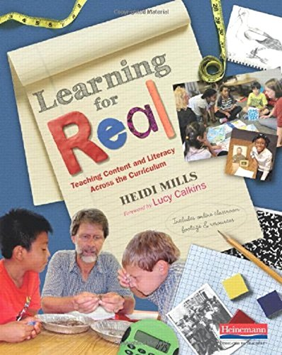 9780325046037: Learning for Real: Teaching Content and Literacy Across the Curriculum