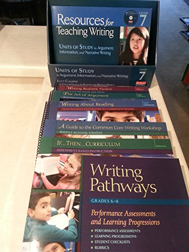 Units of Study in Argument, Information, and: Lucy Calkins with