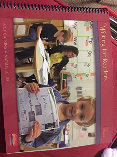 9780325047218: Writing for Readers Grade K Unit 2 Narrative Language Arts, The Grammar & Writing Book