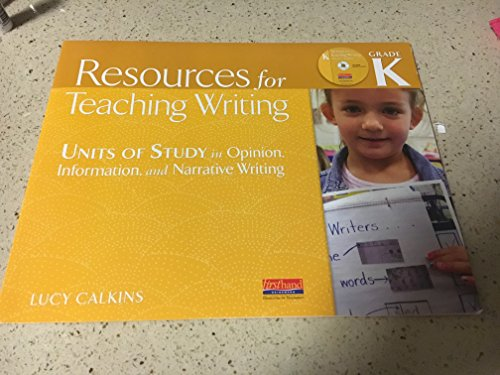 9780325048642: CD-ROM Resources for Teaching Writing Grade K- Units of Study in Opinion, Information, and Narrative Writing
