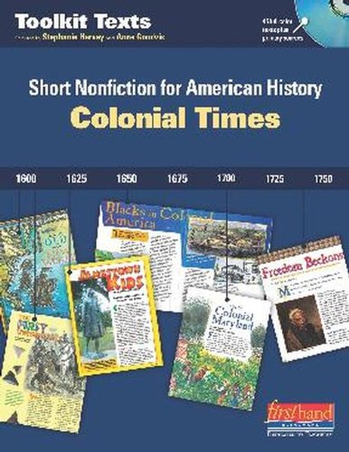 9780325048833: Colonial Times: Short Nonfiction for American History (Toolkit Texts)