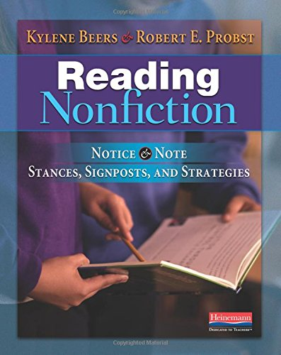 9780325050805: Reading Nonfiction: Notice & Note Stances, Signposts, and Strategies