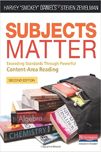 9780325050836: Subjects Matter, Second Edition: Exceeding Standards Through Powerful Content-Area Reading