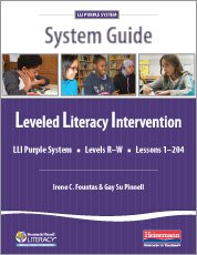 LLI Purple System Guide: Irene Fountas, Gay Su Pinnell