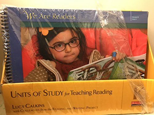 9780325076935: Units of Study for Teaching Reading, Grade K: A Workshop Curriculum