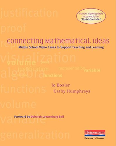 9780325078182: Connecting Mathematical Ideas: Middle School Video Cases to Support Teaching and Learning