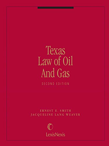 9780327001959: Texas law of oil and gas
