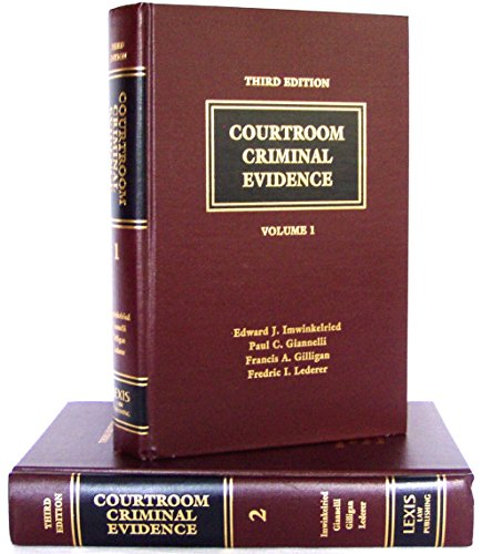 9780327005674: Courtroom Criminal Evidence