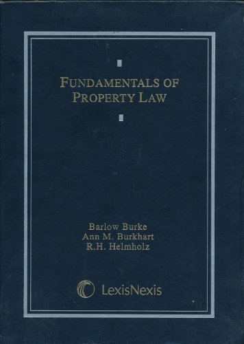 9780327012580: Fundamentals of Property Law