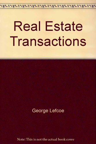 9780327017585: Real estate transactions