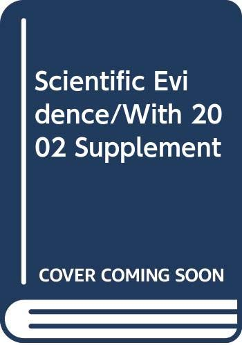 Scientific Evidence (2 Volume Set) (0327049855) by Paul C. Giannelli; Edward J. Imwinkelried