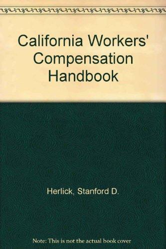 9780327101390: California Workers' Compensation Handbook