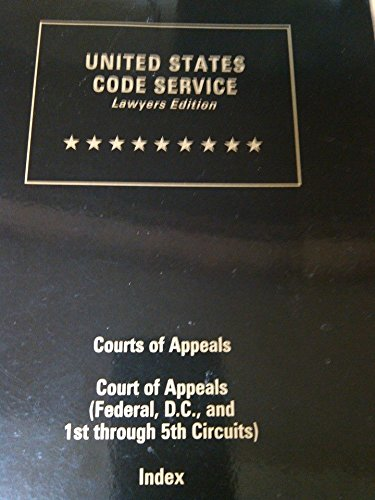 9780327134800: USCS, UNITED STATES CODE SERVICE (Lawyer's Edition) (USCS Court Rules 6-Volume Set)